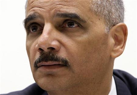 Attorney General Eric Holder testifies before the House Judiciary Committee hearing on Capitol Hill in Washington, December 8, 2011. REUTERS/Yuri Gripas