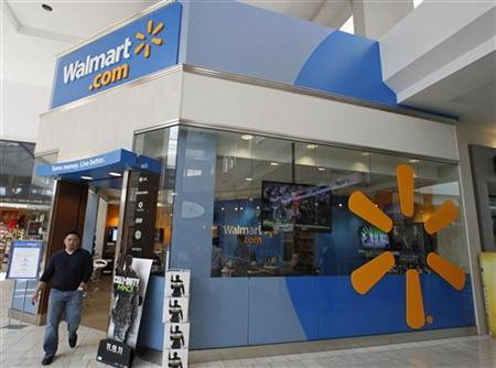 A view of the Wal-Mart.com store at the Topanga Plaza in Canoga Park, California, November 8, 2011. REUTERS/Fred Prouser/Files
