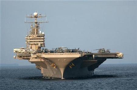 US aircraft carrier enters Strait of Hormuz without incident thumbnail