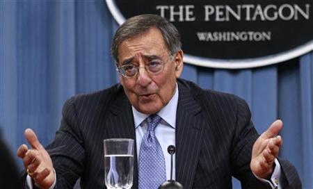 2月2日、米メディアは、パネッタ米国防長官が、イスラエルがイランを攻撃する可能性が高まっていると考えていると報じた。写真はワシントンで先月撮影(2012年 ロイター/Kevin Lamarque)