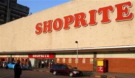 A branch of South African chain Shoprite in the Zambian capital Lusaka in a file photo.   REUTERS/Salim Henry