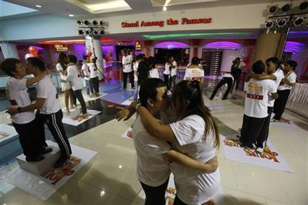 Couples face off in Valentine's Day ordeal