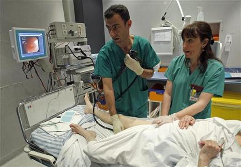 The costs of colonoscopy in a Canadian hospital using a ...