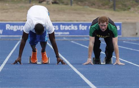 Prince Harry vs. Usain Bolt
