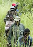Lord's Resistance Army fighters in a file photo. REUTERS/James Akena