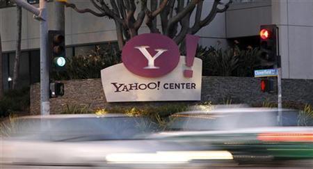 3月12日、米ネット検索大手ヤフーは、オンライン広告の手法やシステムなどを含む10件の特許を侵害しているとして、フェイスブックを提訴した。サンタモニカの同社オフィスで昨年4月撮影(2012年 ロイター/Mario Anzuoni)