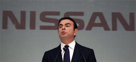 Nissan Motor Co. CEO Carlos Ghosn speaks at a news conference in Jakarta March 20, 2012. REUTERS/Enny Nuraheni/Files
