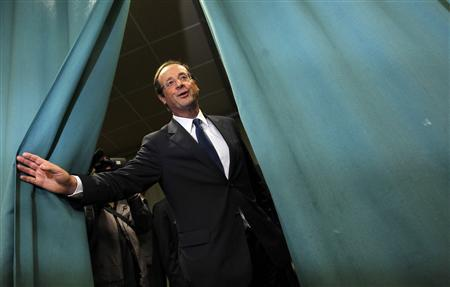 Special Report: French hopeful Hollande says he's...