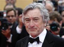 """Jury president of the 64th Cannes Film Festival Robert de Niro arrives on the red carpet for the screening of he film """"Pirates Of The Caribbean: On Stranger Tides"""" at the 64th Cannes Film Festival, May 14, 2011. REUTERS/Yves Herman"""