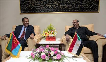 Eritrean leader says U.S. behind Ethiopia raids