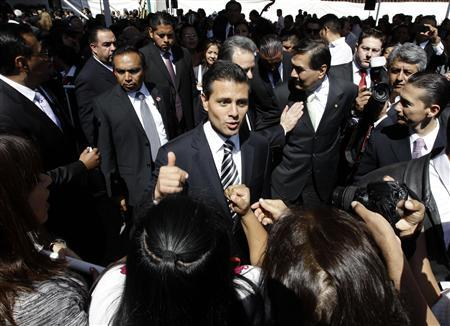 Mexican election favorite Pena Nieto extends lead over rival