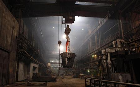 An Interior View Is Seen Of The Norilsk Nickels Copper Plant In Russias Arctic City April 16 2010 REUTERS Ilya Naymushin