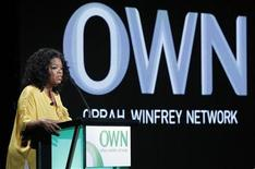 Oprah Winfrey, Chairman, CEO, and Chief Creative Officer of OWN: Oprah Winfrey Network, speaks during the OWN session at the 2011 Summer Television Critics Association Cable Press Tour in Beverly Hills, California July 29, 2011. REUTERS/Mario Anzuoni