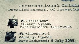 """A scene from the video """"Kony 2012 Part II"""" made by California advocacy group Invisible Children, is pictured in this handout photo received by Reuters April 5, 2012. REUTERS/Invisible Children/Handout"""