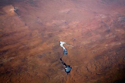Mongolia from above