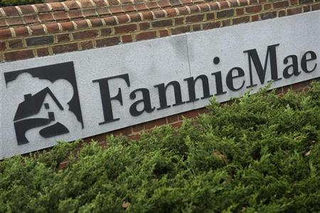 A view shows the Fannie Mae logo at its headquarters in Washington March 30, 2012. REUTERS/Jonathan Ernst