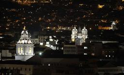 A view shows the historic center at downtown Quito, April 12, 2012.REUTERS/Guillermo Granja/Files