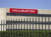 Офис Halliburton в Хьюстоне, 6 апреля 2012 года. Нефтесервисная компания Halliburton Co увеличила прибыль в первом квартале за счет рекордной выручки в Северной Америке. REUTERS/Richard Carson