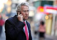 Chief Executive Officer, Chairman, and Co-founder of Chesapeake Energy Corporation Aubrey McClendon walks through the French Quarter in New Orleans, Louisiana March 26, 2012. McClendon visited New Orleans while attending the Howard Weil Annual Energy Conference. REUTERS/Sean Gardner