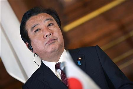 Japan's Prime Minister Yoshihiko Noda attends a joint news conference with leaders of Mekong region nations at the Japan-Mekong summit in Tokyo April 21, 2012. REUTERS/Tomoyuki Kaya/Pool
