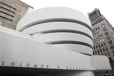 The Guggenheim Museum is seen in New York, February 17, 2010. REUTERS/Shannon Stapleton