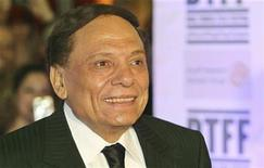 Actor Adel Imam attends the Opening Night Gala during the 2010 Doha Tribeca Film Festival in Doha October 26, 2010. REUTERS/Mohammed Dabbous
