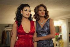 """Actresses Jordin Sparks and Whitney Houston are shown in a scene from the film """"Sparkle"""" in this publicity photo released to Reuters May 1, 2012. REUTERS/Alicia Gbur/TriStar Pictures/Handout"""