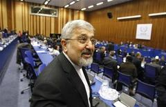 Iran's International Atomic Energy Agency (IAEA) ambassador Ali Asghar Soltanieh attends a board of governors meeting at the United Nations headquarters in Vienna March 8, 2012. REUTERS/Herwig Prammer