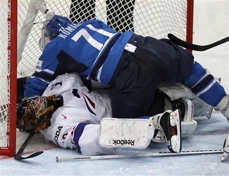 U S Beats Belarus Finland Flattens France At Ice Hockey World