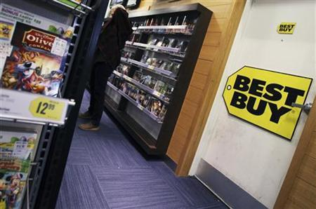 The inside of a Best Buy store is seen in New York, March 26, 2012. REUTERS/Shannon Stapleton/Files