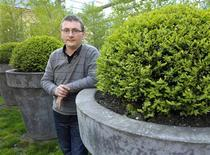"""Basque chef Andoni Aduriz, the culinary conjurer behind one of the top-ranked restaurant in the world, poses for a photograph in Toronto May 11, 2012. Aduriz is on tour to launch his new book, """"Mugaritz: A Natural Science of Cooking. Picture taken May 11, 2012. REUTERS/ Mike Cassese"""