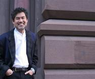 """Playwright David Henry Hwang is pictured in this undated handout photo received by Reuters May 18, 2012. China's biggest political scandal in two decades is likely to have dashed playwright Hwang's hopes of bringing his Broadway play """"Chinglish"""" to mainland China anytime soon. REUTERS/Handout/Lia Chang"""