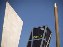 Spain's Bankia bank headquarters building is seen in Madrid May 18, 2012. REUTERS/Paul Hanna