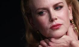 "Cast member Nicole Kidman attends a news conference for the film ""The Paperboy"" in competition at the 65th Cannes Film Festival, May 24, 2012. REUTERS/Christian Hartmann"