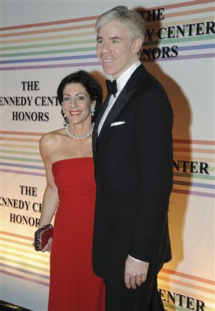 David Gregory of NBC News and his wife Beth Wilkinson arrive on the red carpet for the Kennedy Center Honors at the Kennedy Center in Washington, in this December 5, 2010 file photo. REUTERS/Jonathan Ernst
