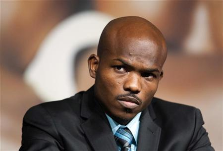 U.S. boxer Timothy Bradley Jr. attends a news conference at the MGM Grand Hotel and Casino in Las Vegas, Nevada June 6, 2012. REUTERS/Las Vegas Sun/Steve Marcus