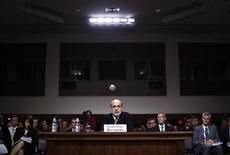 U.S. Federal Reserve Chairman Ben Bernanke testifies at a Joint Economic Committee hearing on economic outlook and policy on Capitol Hill in Washington, June 7, 2012. REUTERS/Jason Reed