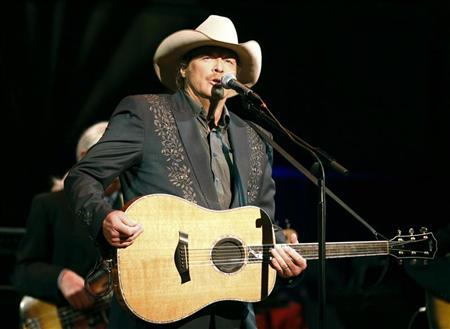 Singer Alan Jackson performs during ''A Concert for Hope'' at the Kennedy Center in Washington September 11, 2011 on the 10th anniversary of the 9/11 attacks. REUTERS/Kevin Lamarque