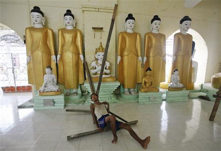 Riot-hit Myanmar town calmer as troops restore order   Reuters