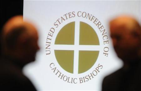 6月14日、米カトリック司教らは若年層向けのメッセージにソーシャルメディアを活用したり、著名な人物を広報担当に起用したりするなど「イメージ刷新」に取り組むと発表した。アトランタで開かれたカトリック司教の年次総会で13日撮影(2012年 ロイター/Tami Chappell)