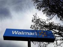 A Walmart store is seen in Rogers, Arkansas, November 8, 2009. REUTERS/Lucy Nicholson