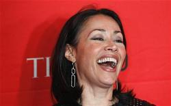 Television personality Ann Curry arrives at the Time 100 Gala in New York, April 24, 2012. REUTERS/Lucas Jackson