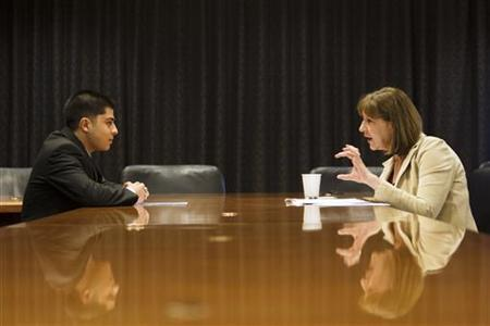 wawancara kerja (Reuters)