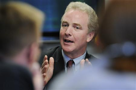 U.S. Representative Chris Van Hollen (D-MD), ranking Democrat on the House Budget Committee, speaks during the Reuters Washington Summit in Washington, June 26, 2012. REUTERS/Jonathan Ernst