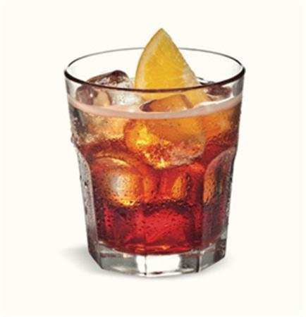 The Negroni Sbagliato (''The Wrong Negroni'') cocktail is shown in this Campari publicity photograph. REUTERS/Handout