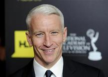 Anderson Cooper arrives at the 39th Daytime Emmy Awards in Beverly Hills, California, June 23, 2012. REUTERS/Gus Ruelas
