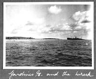 The reef at Nikumaroro, Republic of Kiribati, is pictured in this October 1937 photograph released on March 21, 2012. Scientists on March 20, 2012 announced a new search to resolve the disappearance of Amelia Earhart, saying fresh evidence from the remote Pacific island may reveal the fate of renowned Earhart, who vanished in 1937 while attempting to circle the globe. REUTERS/TIGHAR/Eric Bevington/TIGHAR/Handout