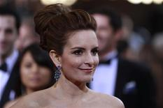 Actress Tina Fey arrives at the 84th Academy Awards in Hollywood, California, February 26, 2012. REUTERS/Lucas Jackson