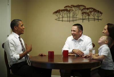 Obama housecalls