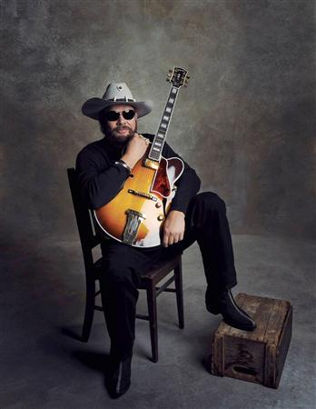 Musician Hank Williams Jr. is pictured in this publicity photo released to Reuters July 12, 2012. REUTERS/Blaster Entertainment/Handout